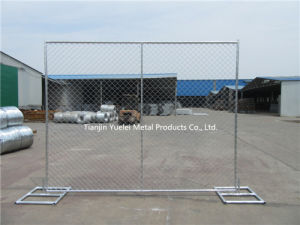 Galvanized PVC Coated Chain Link Fencing/Welded Temporary Fencing/Australia Standard Temporary Fencing pictures & photos