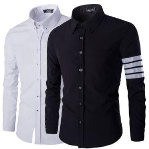 Stylish Mens Long Sleeve Slim Fit Dress Shirt (A427)