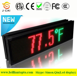 Programmable LED Moving Sign with Tri-Color 96*16cm pictures & photos