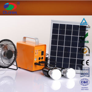 6V4ah Green Solar System for House Lighting in Power Shortage Place pictures & photos