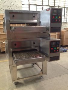 Double Deck Conveyor Pizza Oven