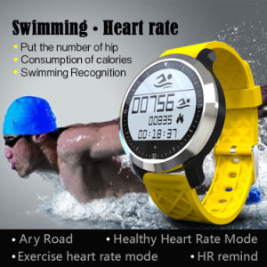 IP68 Waterproof Heart Rate Testing Touch Screen Smart Sport Watch pictures & photos