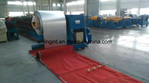 Metal Corrugated Trapezoidal Roof Sheet Roll Forming Machine pictures & photos