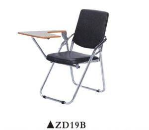 Folding Conference Chair with Writing Pad pictures & photos