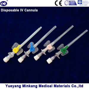 Medical Disposable IV Cannula (butterfly type) with Injection Port pictures & photos