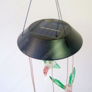 Color Changing Solar Wind Chimes LED Lights with Decoration for Garden Party Holiday Home pictures & photos