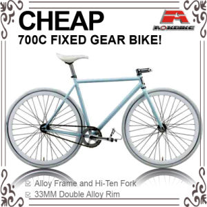 Cheap Hi-Ten Color to Order 700c Fixed Gear Bicycle (ADS-7070S) pictures & photos