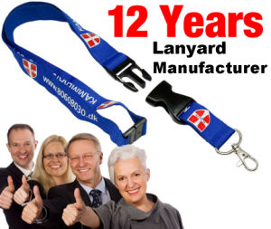 Professional Manufacturer of Lanyard with Logo Design pictures & photos