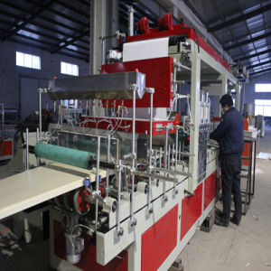 Plastic Machinery-WPC Construction Formwork Extrusion Machine pictures & photos