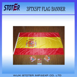 Cheap Custom 100%Polyester Sweden Nation Flag pictures & photos
