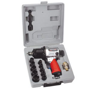 17PC 1/25′′ H. D. Air Impact Wrench Kit (PAT-102K) pictures & photos