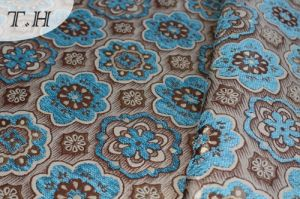 Cute Small Jacquard Fabric Series of Chenille Sofa Fabric by 330GSM pictures & photos