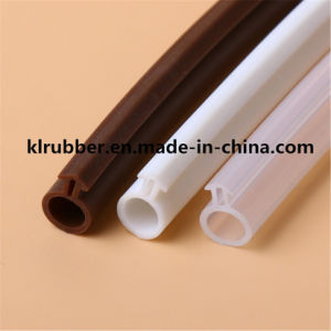 EPDM Silicone Rubber Sliding Door Seal Strip pictures & photos