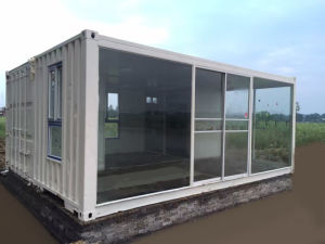 Low Pay Modern Modified Container Prefabricated/Prefab Sunshine Room/House pictures & photos