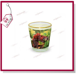1.5oz Sublimation Custom Printed Wine Glass with Golden Rim pictures & photos