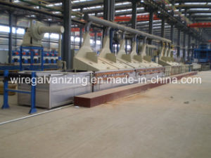 Steel Wire Annealing Pickling Line with Pay-off and Take-up pictures & photos