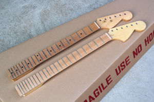 Hanhai Music / 6-String Electric Guitar Neck Made From Flame Maple or Bird Eye Maple pictures & photos