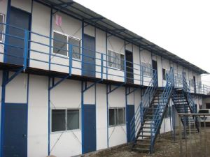 Fast Assembly Sandwich Panel Insulated Prerfabricated Houses in Saudi Arabia pictures & photos