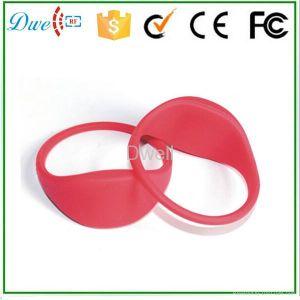 Silicon 125kHz Tk4100 Wristband Tag pictures & photos