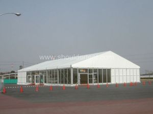 20m Outdoor Aluminum Event Marquee Tent with Glass Wall for Exhibition pictures & photos
