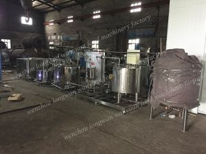 500L/H Fresh Milk Processing Line/ Production Line pictures & photos