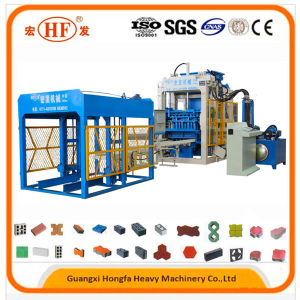 Hydraulic Cement Concrete Brick Making Machine pictures & photos