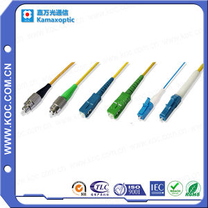 Fiber Optic Patch Cord for Fiber Optical Connection pictures & photos