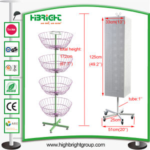 Heavy Duty Metal Rotating Display Stand pictures & photos