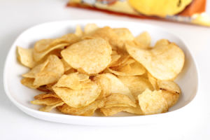 Stainless Steel Natural Fried Potato Chips Processing Machine pictures & photos