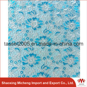 Hot Sell Guipure Lace with Stone 3027 pictures & photos