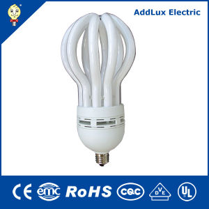 CE 110-240V 9W - 105W Lotus Flower Compact Fluorescent Bulb pictures & photos