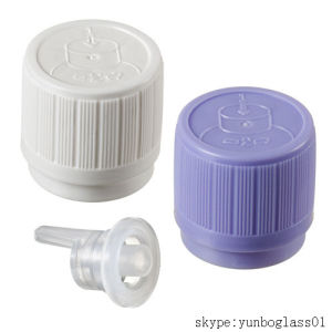Childproof Screw Cap for Amber Essential Oil Bottles pictures & photos