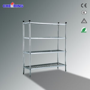 Hot Sale 1.2m1.5m2.0m Knockdown 4-Layer Shelf pictures & photos