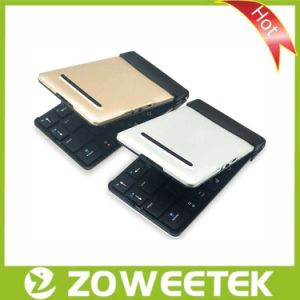 High-Quality Foldable Silver Keyboard Wireless Mini Bluetooth Keyboard Foldable Keyboard pictures & photos
