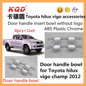 Car Door Accessories Cheap Plastic Bowls for Toyota Hilux Revo Vigo 2015 Door Bowl Cover Hilux Trd Insert Door Handle Bowl Cover