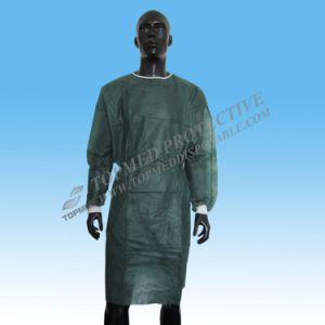 Hospital Isolation Gowns, Medical Grenn Isolation Gowns pictures & photos