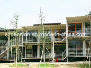 Low Cost Convenient Mobile Prefabricated/Prefab Holiday House/Villa pictures & photos