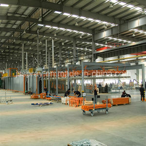 Powder Coating Production Line for Storage Rack/Goods Shelves