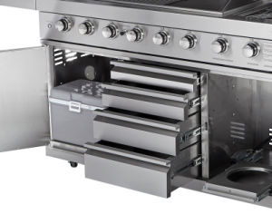 Ce Full 304 Stainless Steel Outdoor Gas BBQ Kitchen pictures & photos
