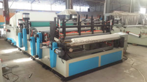 Full Automatic Perforated Toilet Paper Rolls Towel Production Line Machine pictures & photos