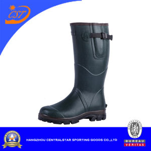 Fashion Comfortable Neoprene Lining Rubber Boots (2207N)