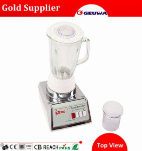Geuwa Smoothies Manual Dry Food Blender with Glass Jar Kd316 pictures & photos