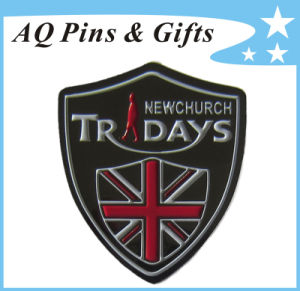 Metal Badge for Church in Soft Enamel Pin Badge (badge-122) pictures & photos
