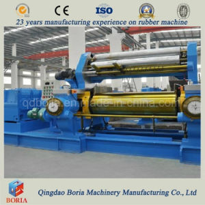 Compact Structure Rubber Open Mixing Mill Machine pictures & photos
