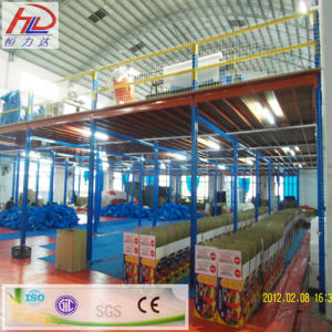 Customized Steel Platforms Mezzanine Storage Rack pictures & photos