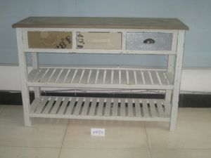 3 Drawer Modern Style Shelf (FCJ04173)