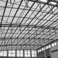 Frame Roof Structure Steel Space