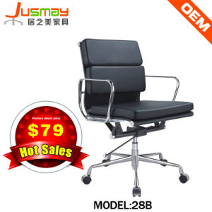 Modern Office Aluminium Staff Computer Visitor Swivel Chair