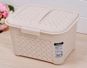 Modern Design Plastic Storage Box, Receive Basket pictures & photos