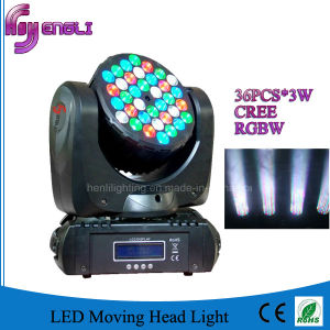 36PCS CREE LED Beam Moving Head Light (HL-007BM) pictures & photos